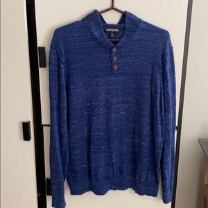 Express Men's Blue Sweater XL